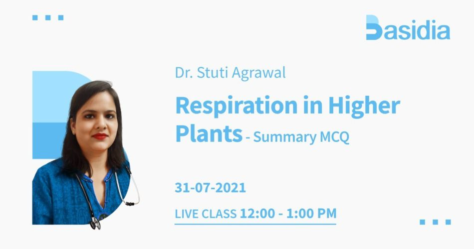 Respiration in Plants