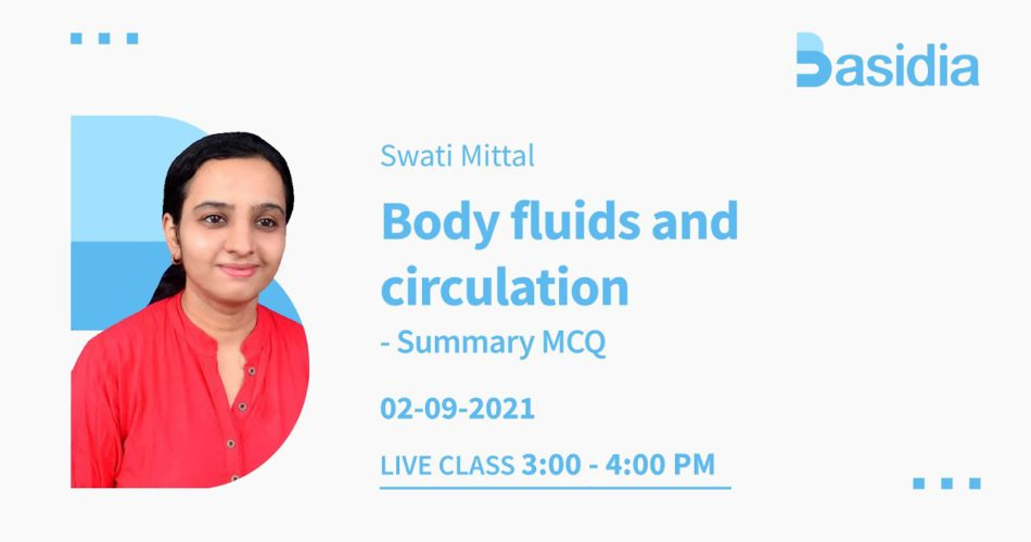 body fluids and circulations